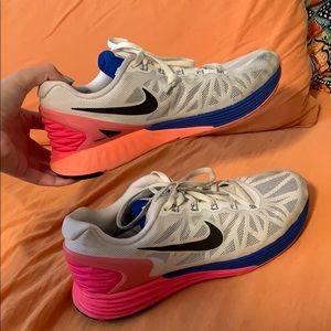 Women's Nike running shoes size 9